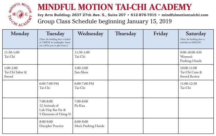MMTCA Schedule web Jan 2019
